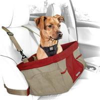 Kurgo Rover Booster Dog Seat, Heather Nutmeg