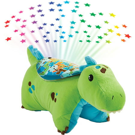 Pillow Pets Green Dinosaur Sleeptime - Cool Glow In The Dark Stuff