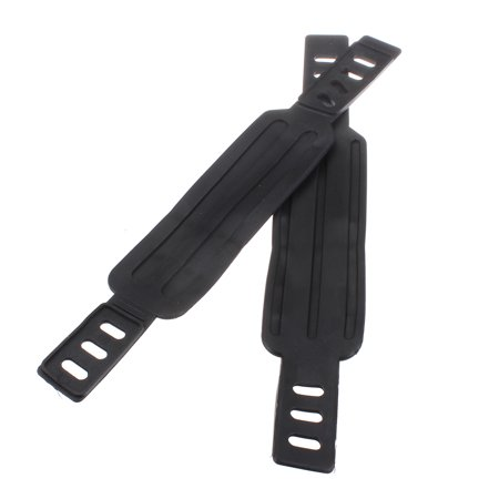 2x Generic Exercise Bike Bicycle Pedal Straps Belts Fixed Stationary Adjustable - image 6 of 6