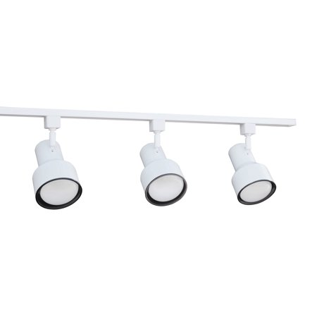 Nicor Lighting 4 Ft 3 Light 75 Watt Linear Track Kit