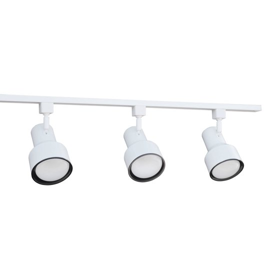 Nicor lighting 4 ft 3 light 75 watt linear track lighting kit nicor lighting 4 ft 3 light 75 watt linear track lighting kit aloadofball Image collections