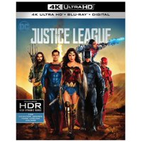 Justice League (2017) (4K Ultra HD + Blu-ray + Digital)