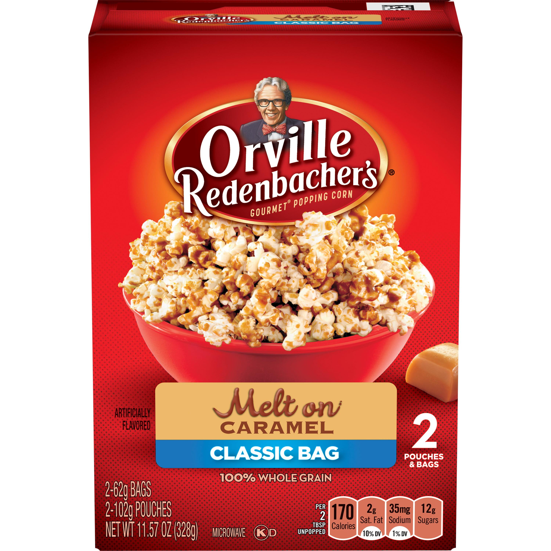 Orville Redenbacher's Caramel Popcorn, 62 g, 2 ct