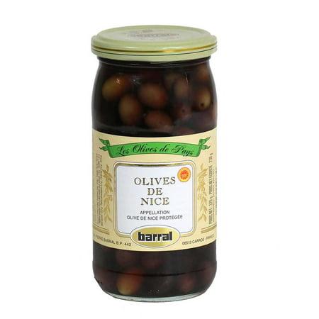 Gourmet Olive - Barral - Black Nicoises Olives, 230g (8.1 oz)
