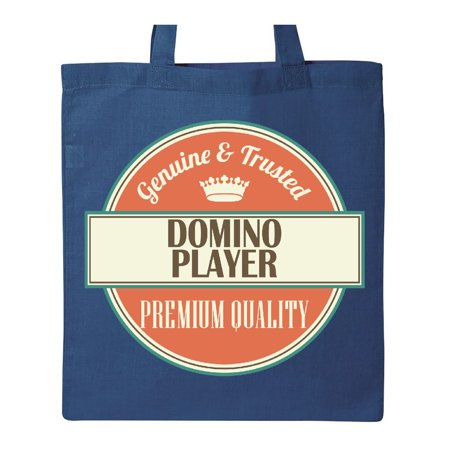 Domino Player Funny Gift Idea Tote Bag - Purple Domino