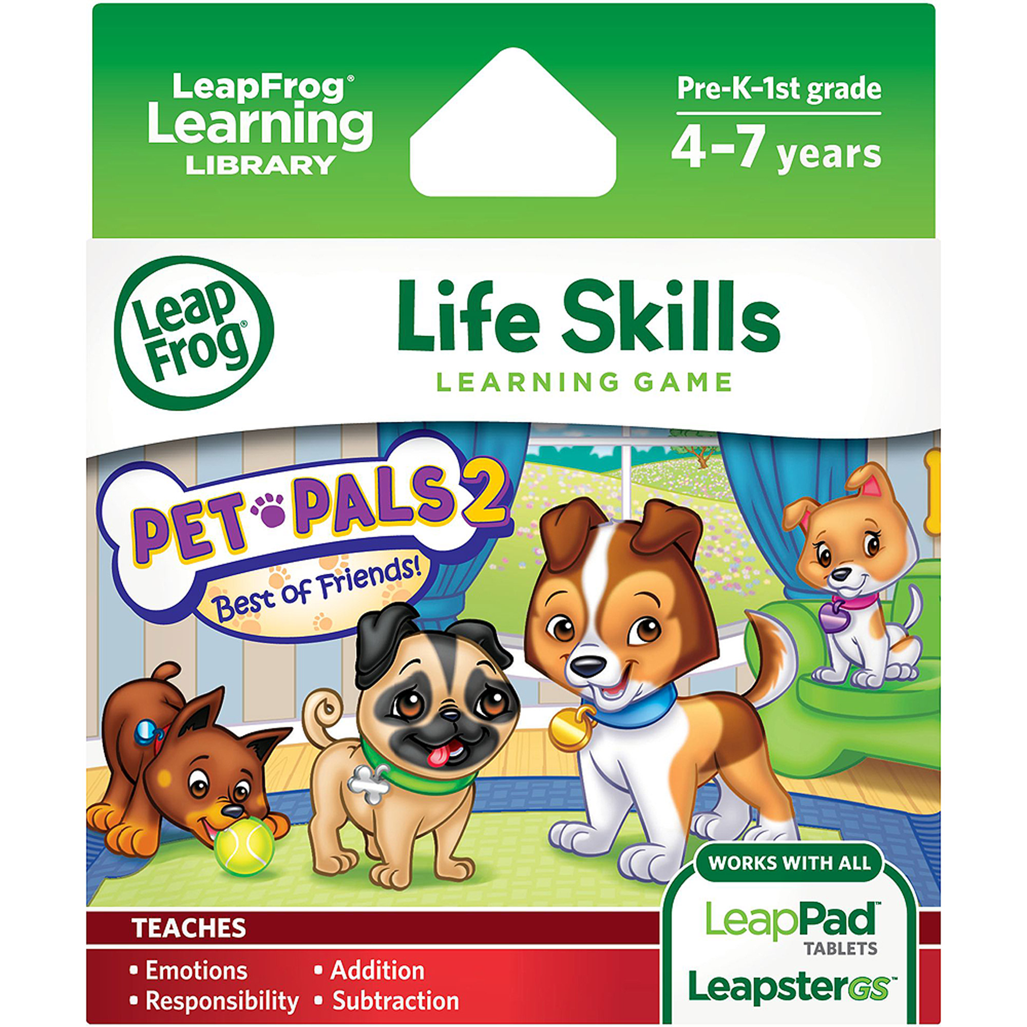 LeapFrog Explorer & LeapPad Learning Game: Pet Pals 2