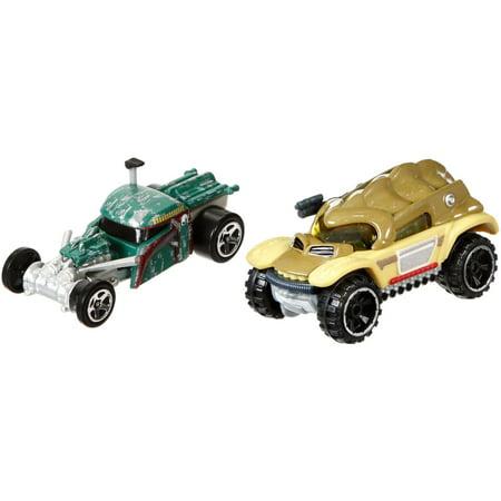 Hot Wheels Star Wars Boba Fett & Bossk Character Car - Boba Shop For Sale