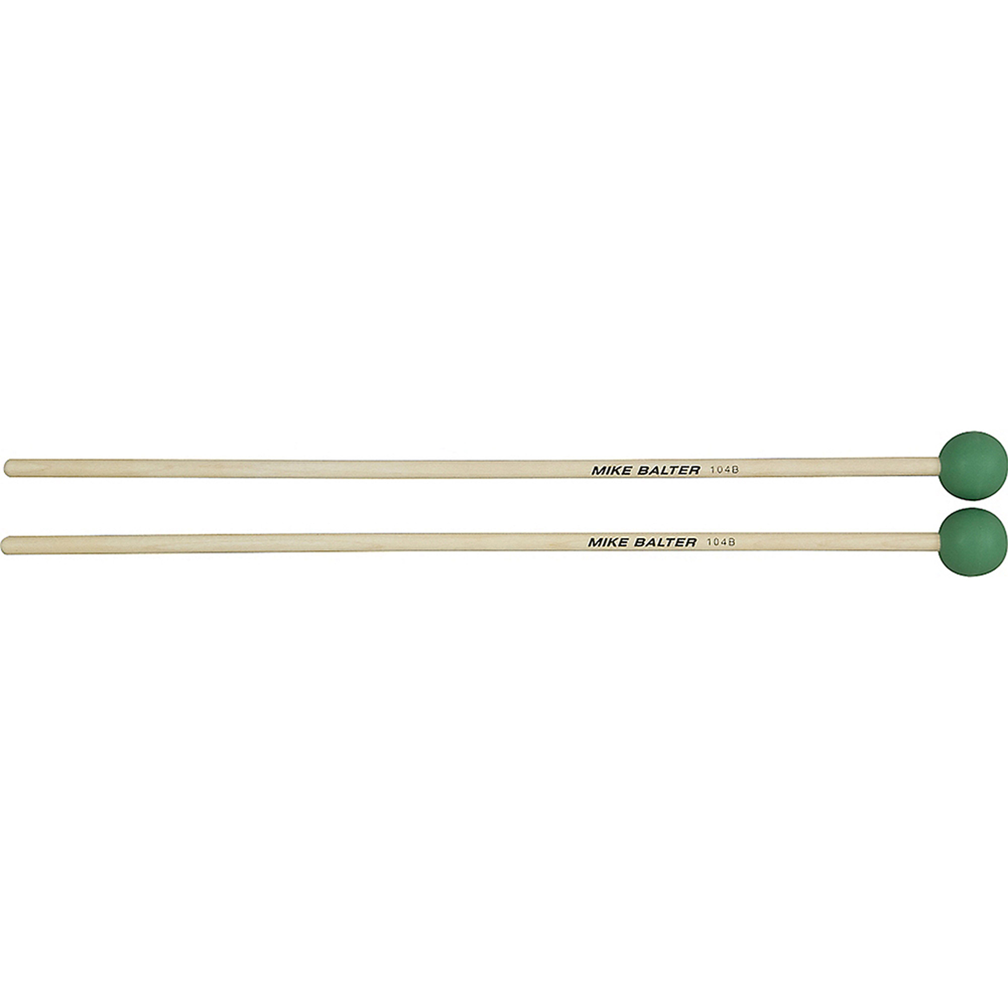 Mike Balter 104B Grandioso Unwound Series Medium Light Green Rubber Keyboard Mallets w ... by Mike Balter