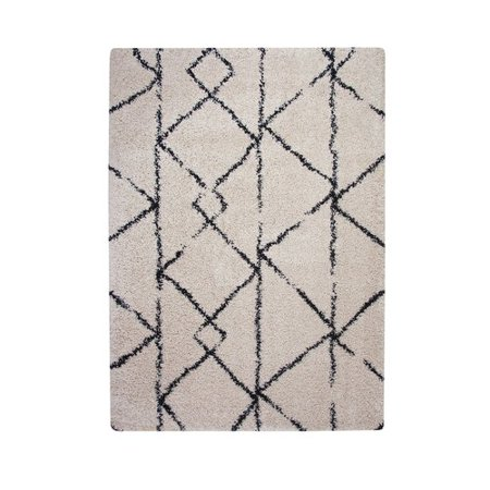 Foundry Select Alday Thick And Plush Cream Indoor Outdoor Area Rug
