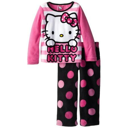 Hello Kitty Little Girls 2pc Pajama Set