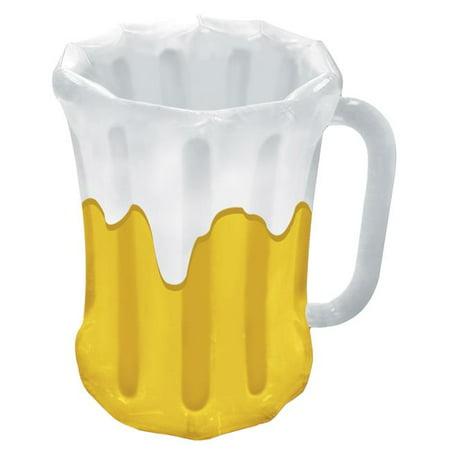 Morris Costumes BG57892 Inflatable Beer Mug Cooler - Inflatable Beer Mug