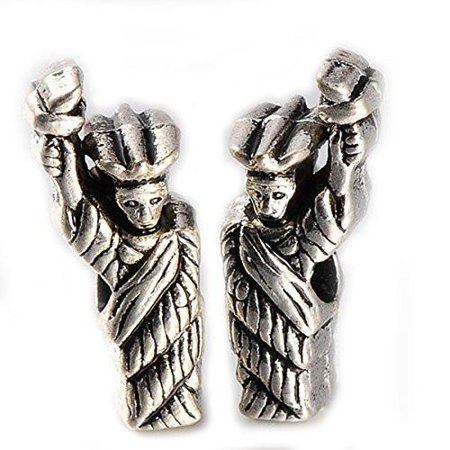 Statue of Liberty Charm European Bead Compatible for Most European Snake Chain Bracelet
