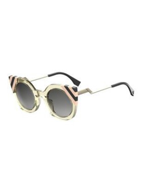 660509f14c3f Product Image Sunglasses Fendi Ff 240  S 040G Yellow   9O dark gray  gradient lens