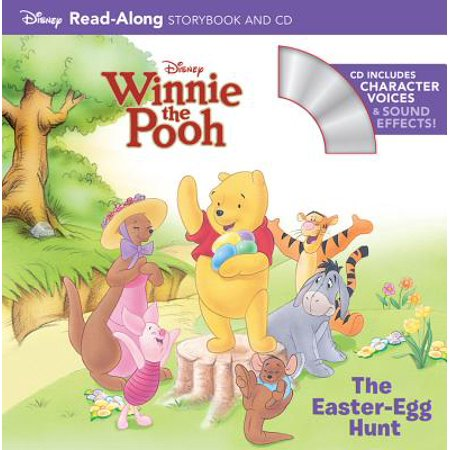 Winnie the Pooh The Easter Egg Hunt Read-Along Storybook and CD - Winnie The Pooh Halloween Cd