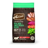 Merrick Grain-Free Real Duck & Sweet Potato Recipe Dry Dog Food, 25 lb