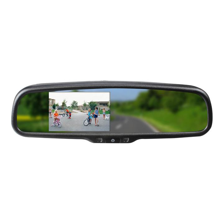 """Boyo 4.3"""" rearview mirror bluetooth built in speaker"""