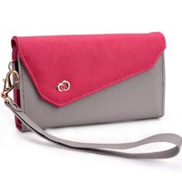 Womens Wristlet with Cell Phone Pouch