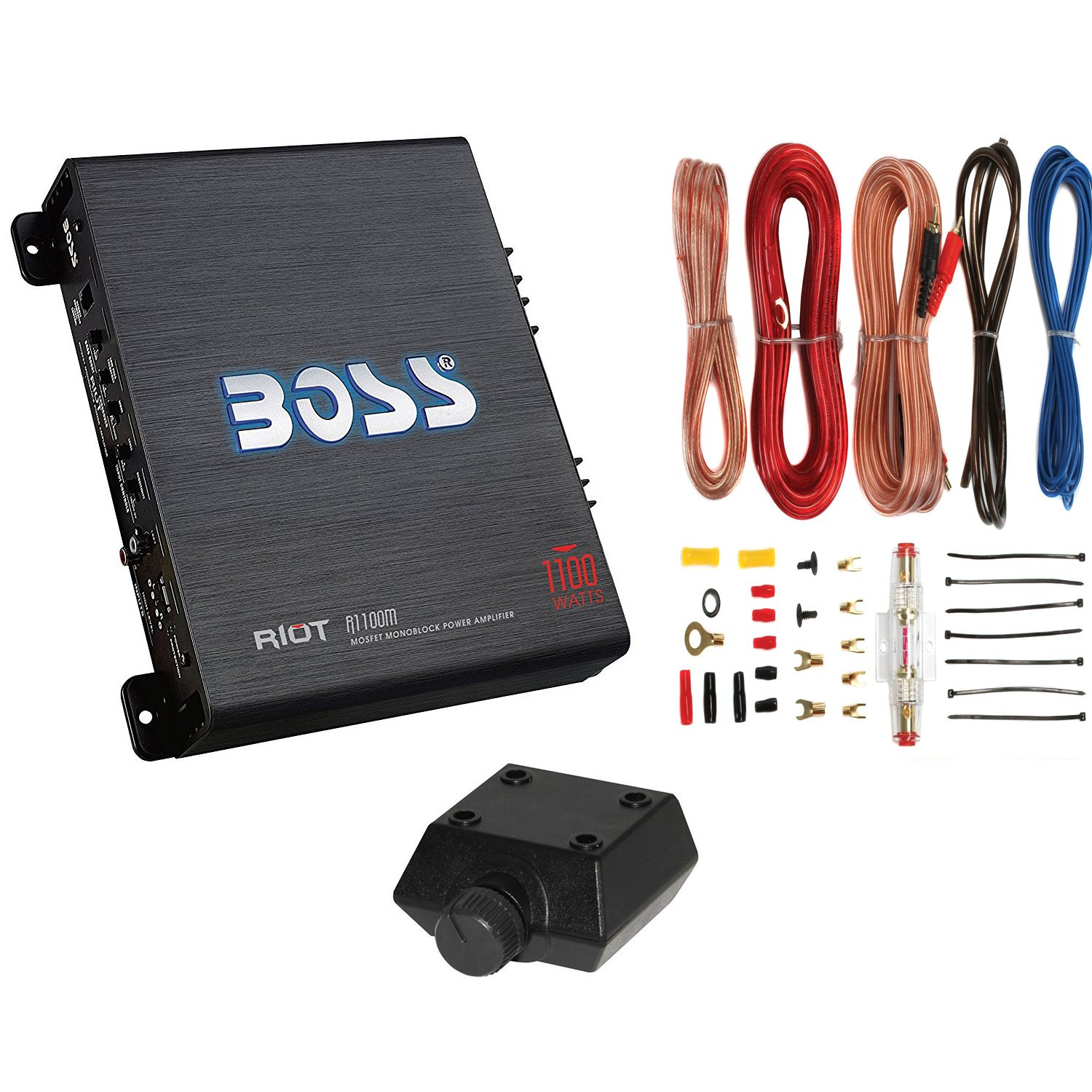 car amplifier wiring walmart comproduct image new boss r1100m 1100w mono car audio amplifier amp 8 gauge amp wiring kit