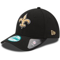 New Orleans Saints New Era The League 9FORTY Adjustable Hat - Black - OSFA