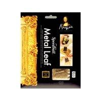 Metal Leaf imitation gold, pack of 25 sheets (pack of 2)