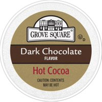 Grove Square Dark Chocolate Hot Cocoa Coffee Pods, 24 Count for Keurig K-Cup Brewers