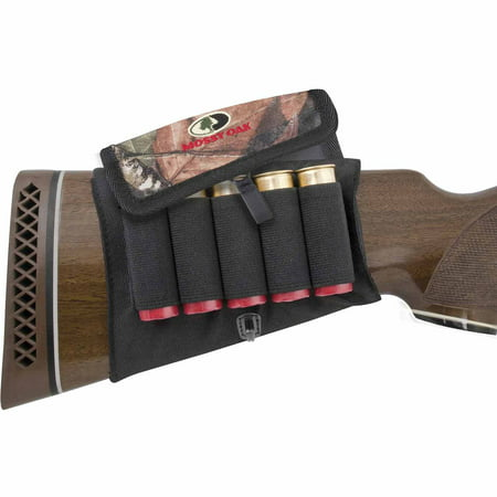 Mossy Oak Buttstock Shot Shell Holder with (Shell Holder Set)
