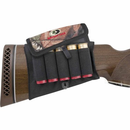 Mossy Oak Buttstock Shot Shell Holder with Cover
