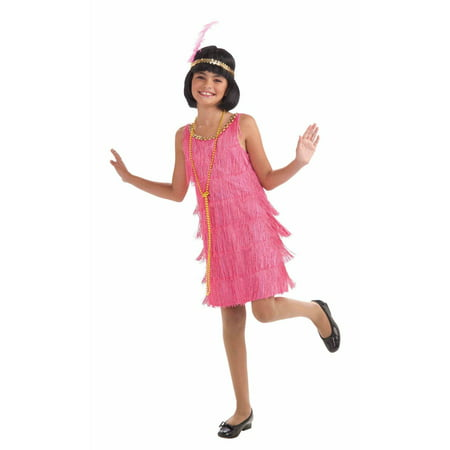 Girls Lil Miss Flapper Costume](Halloween Flapper Girl)