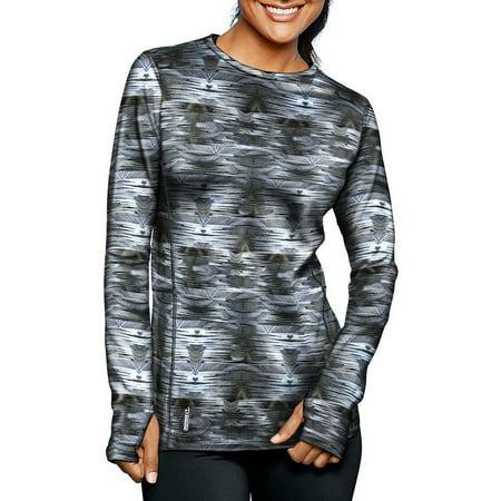 939abd602d07 Champion - Duofold Women's Mid Weight Fleece Lined Thermal Shirt -  Walmart.com