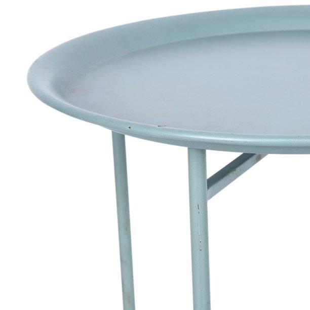 Dilwe Coffee Table Household Modern Metal Coffee Tea Table Round Side Tables For Living Room Office Use Tea Table Walmart Com Walmart Com