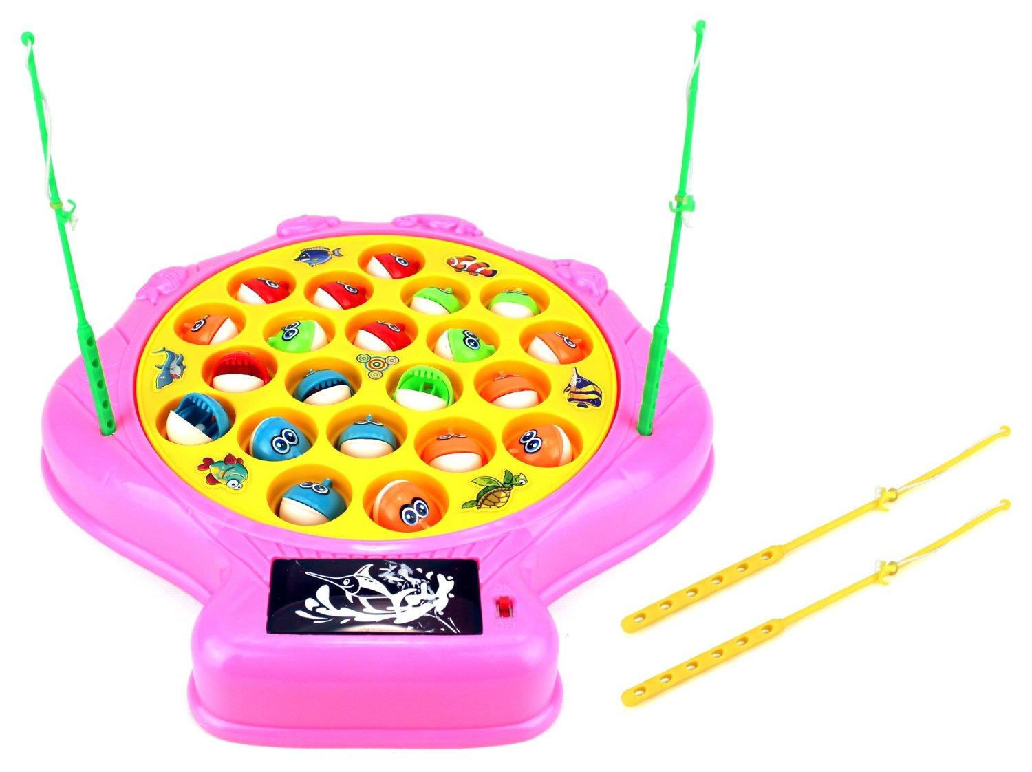 Deep Sea Shell Fishing Game for Children Battery Operated Rotating Novelty Toy Fishing... by Velocity Toys