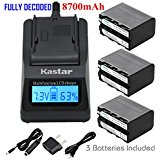 Kastar Ultra Fast Charger(3X faster) Kit and Battery (3_P...