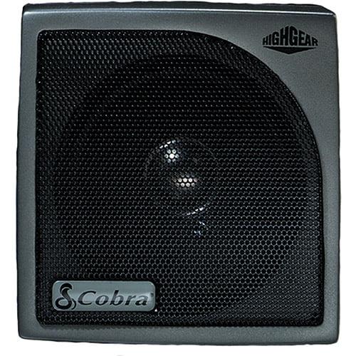 Cobra HighGear Noise Canceling External Speaker With Built-In Mic