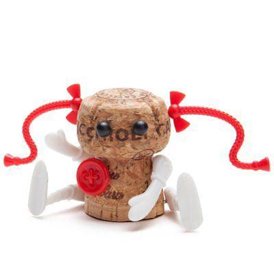 Monkey Business Corkers Classics (Ann) Rag Doll Wine Cork Decorating -