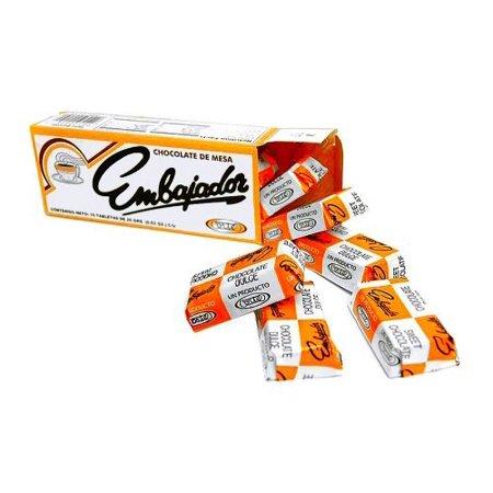 Chocolate de Mesa Embajador - Sweet baking Chocolate from Republica Dominicana