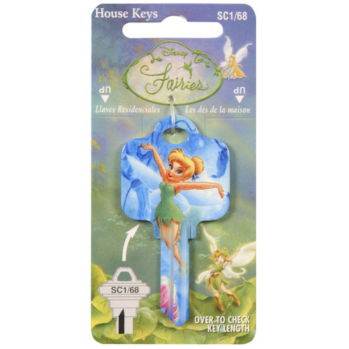Disney Tinkerbell House Key