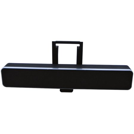 audiovox ipd sb ipad sound bar with 3 5 inch stereo input jack and stand. Black Bedroom Furniture Sets. Home Design Ideas