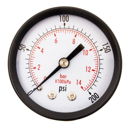 - DuraChoice Air pressure gauge for air compressor water oil gas 2