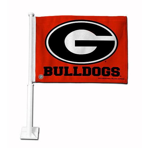 Rico Industries NCAA Car Flag, University of Georgia Bulldogs