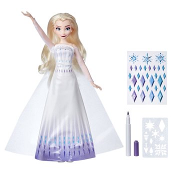 Disneys Frozen 2 Design-a-Dress Elsa Doll