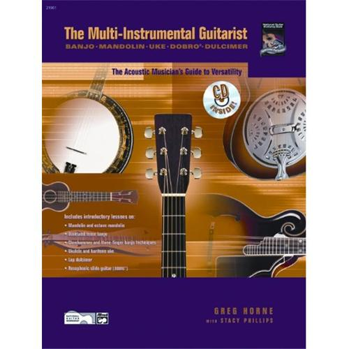 Alfred The Multi-Instrumental Guitarist Book and CD