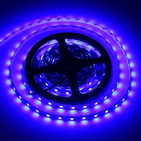 Flexible led strip lightsblue300 units smd 5050 ledswaterproof12 flexible led strip lightsblue300 units smd 5050 ledswaterproof12 volt led light strips pack of 164ft5m walmart aloadofball Choice Image