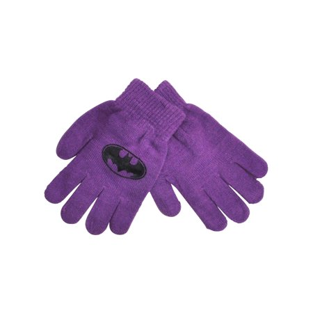 DC Superhero Girls Batgirl Gloves Mittens Purple 1-PAIR](Superhero Gloves)