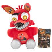 "Funko Five Nights at Freddy's Nightmare Foxy Plush, 6"""
