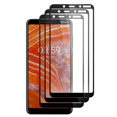5d Focusing Screen (WIRESTER Tempered Glass 5D Full Curved Screen Protector for Nokia 3.1 Plus 2019 6