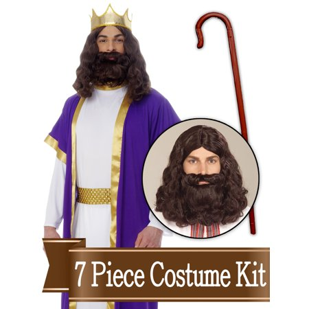 Wiseman Biblical Easter Nativity Adult Costume Kit - X - Adult Nativity Costumes