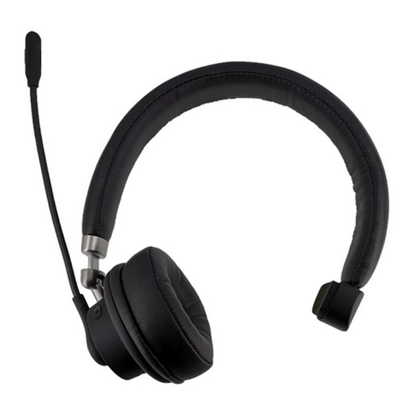 Wireless Headset Trucker Bluetooth Headset With Mic Noise Cancelling On Ear Bluetooth Headphones For Office Buiseness Home Pc Android Cell Phones Walmart Com Walmart Com