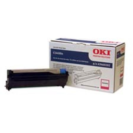 Oki Data Americas- Inc. OKI43460204 Image Drum- 15000 Page Yield- Black Black 15000 Yield