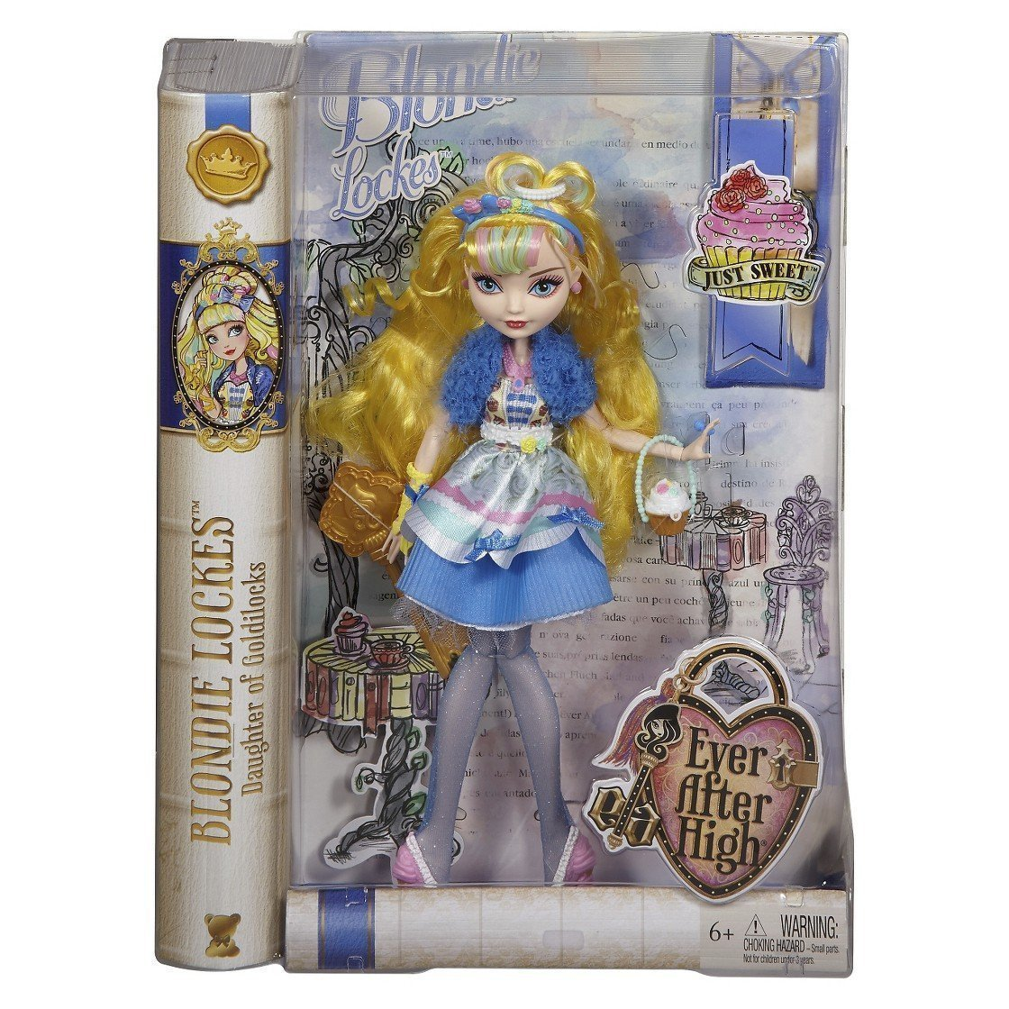 "Blondie Lockes Fashion Doll, 10.5""H, Ver After High Blondie Lockes Just Sweet Doll By Ever After High"