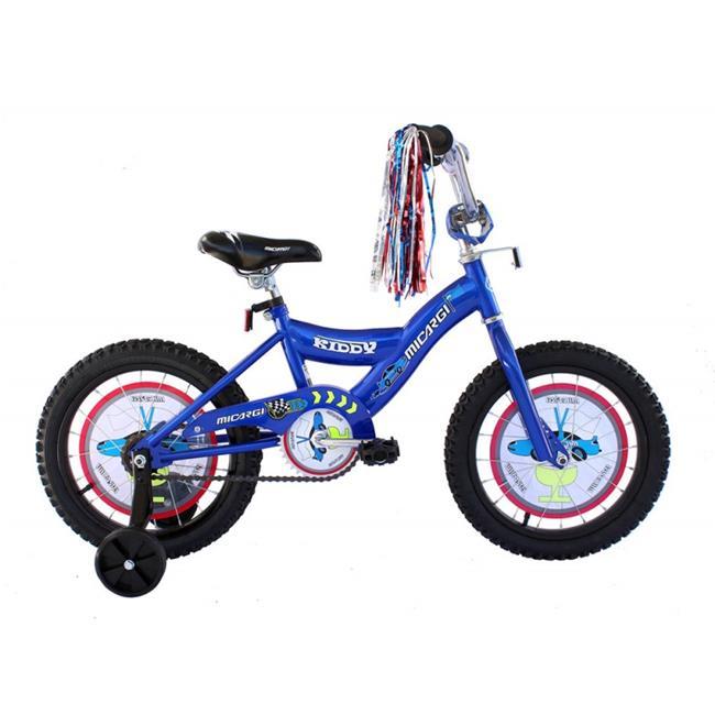 Micargi KIDDY-B-BL 16 in. Boys BMX Bicycle, Blue